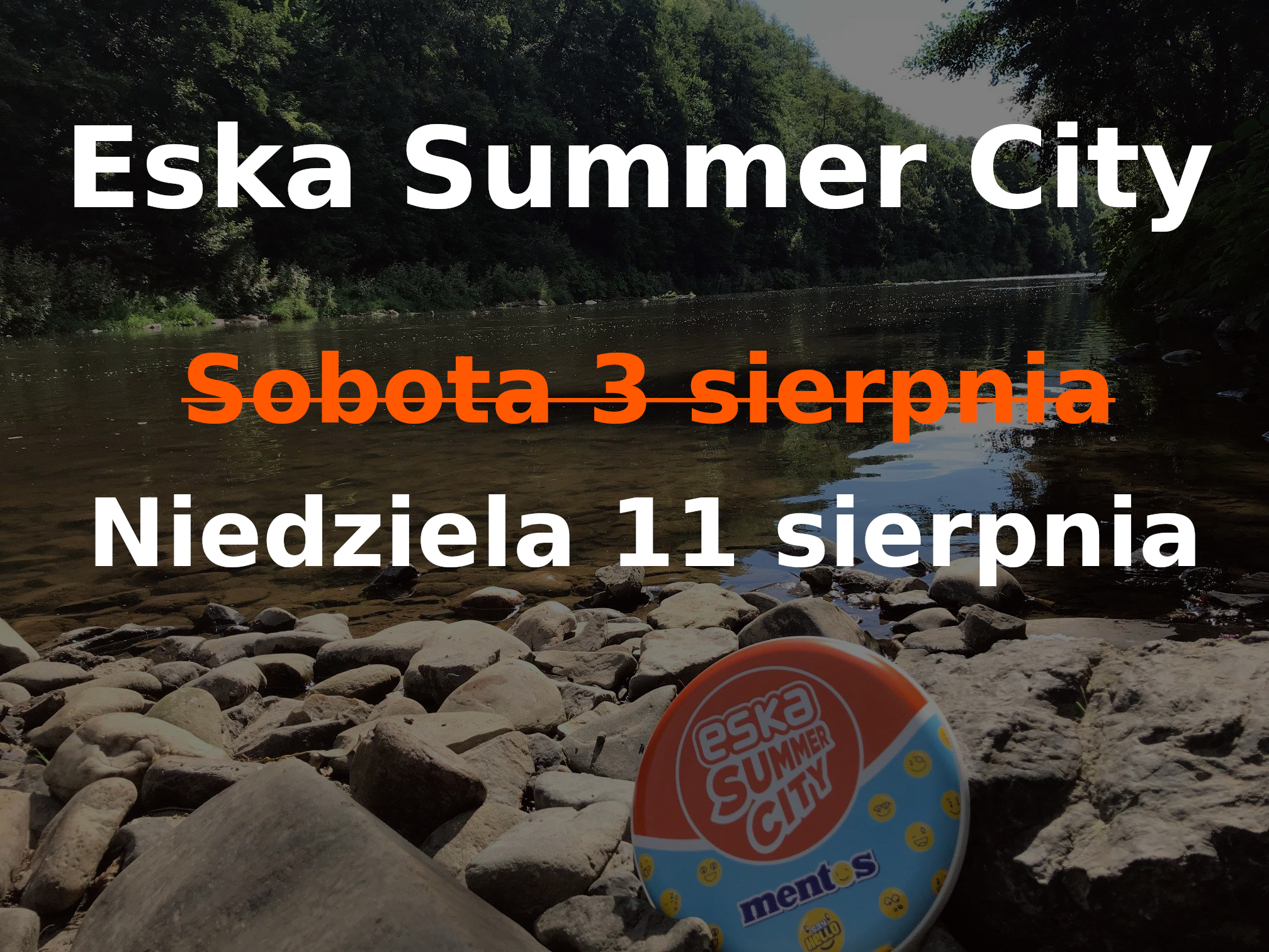 Zmiana terminu Eska Summer City